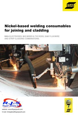 Nickel-based welding consumables for joining and cladding 2014